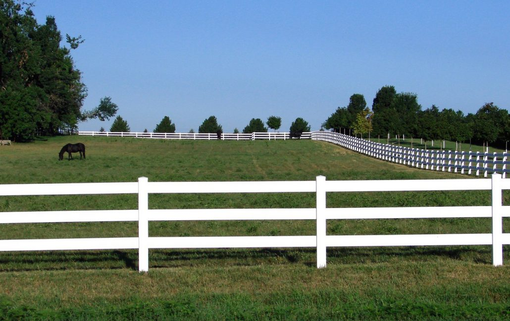 Horse fencing and your farm part 1 the two most common horse fence materials straight line - Most frequent fence materials ...