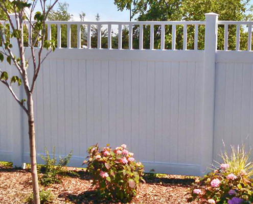 Custom Polyvinyl fence