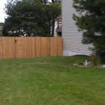 treated fence, dog eared wood fence, privacy fence, wood privacy fence