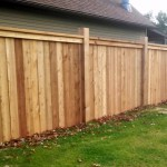 flatboard privacy fence