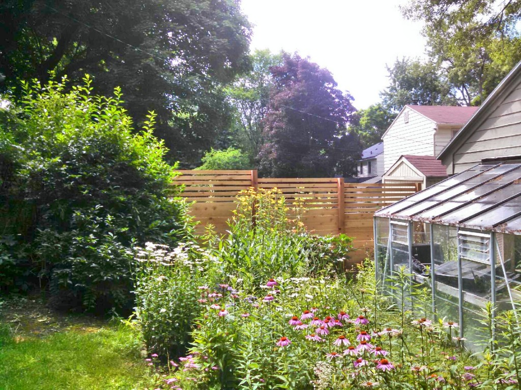 Custom Wood Fence Design Guide Straight Line Fence