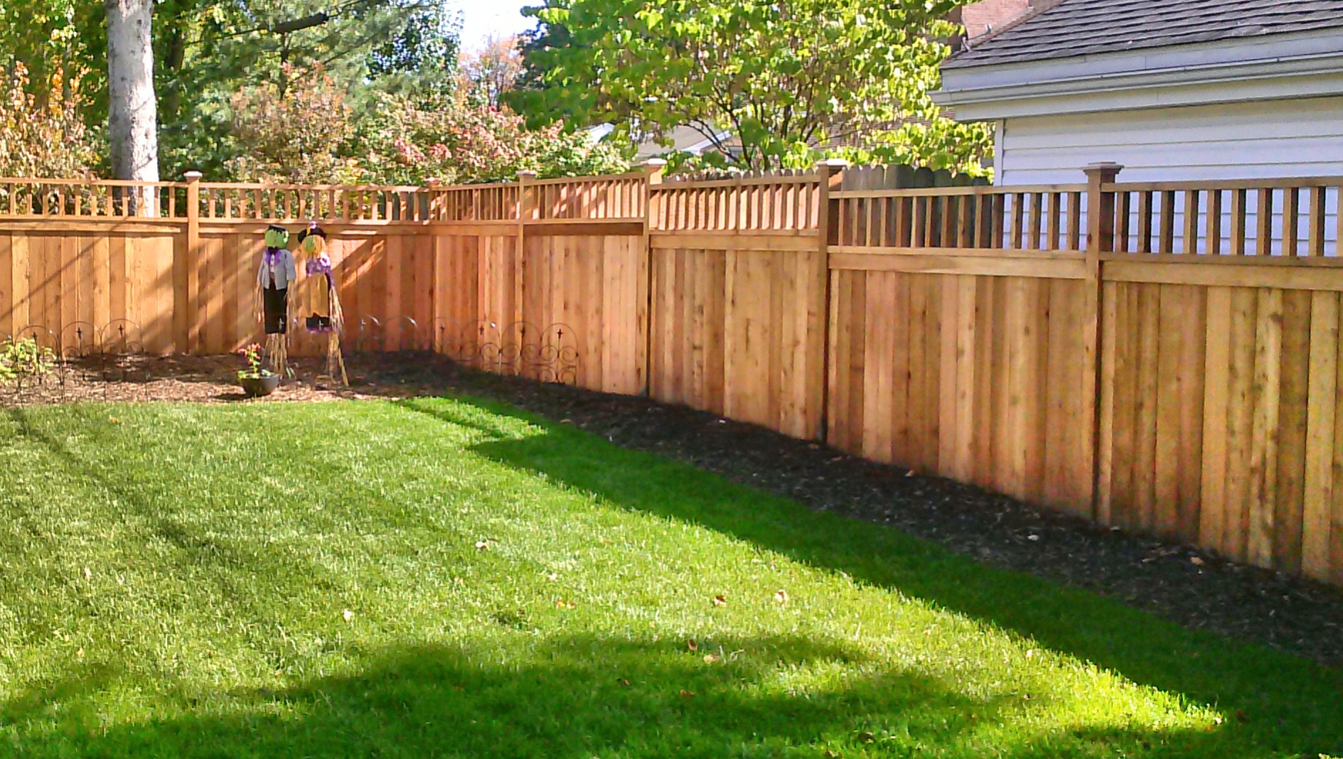 Good Fences Make Good Neighbors Straight Line Fence