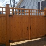 Custom Cedar Wood Gate