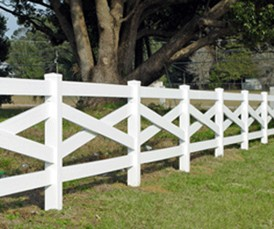 crossbuck horse fence