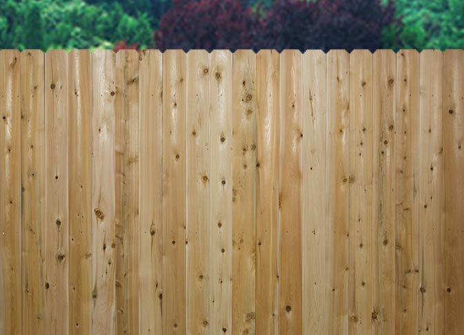 A guide to different types of wood for fencing straight